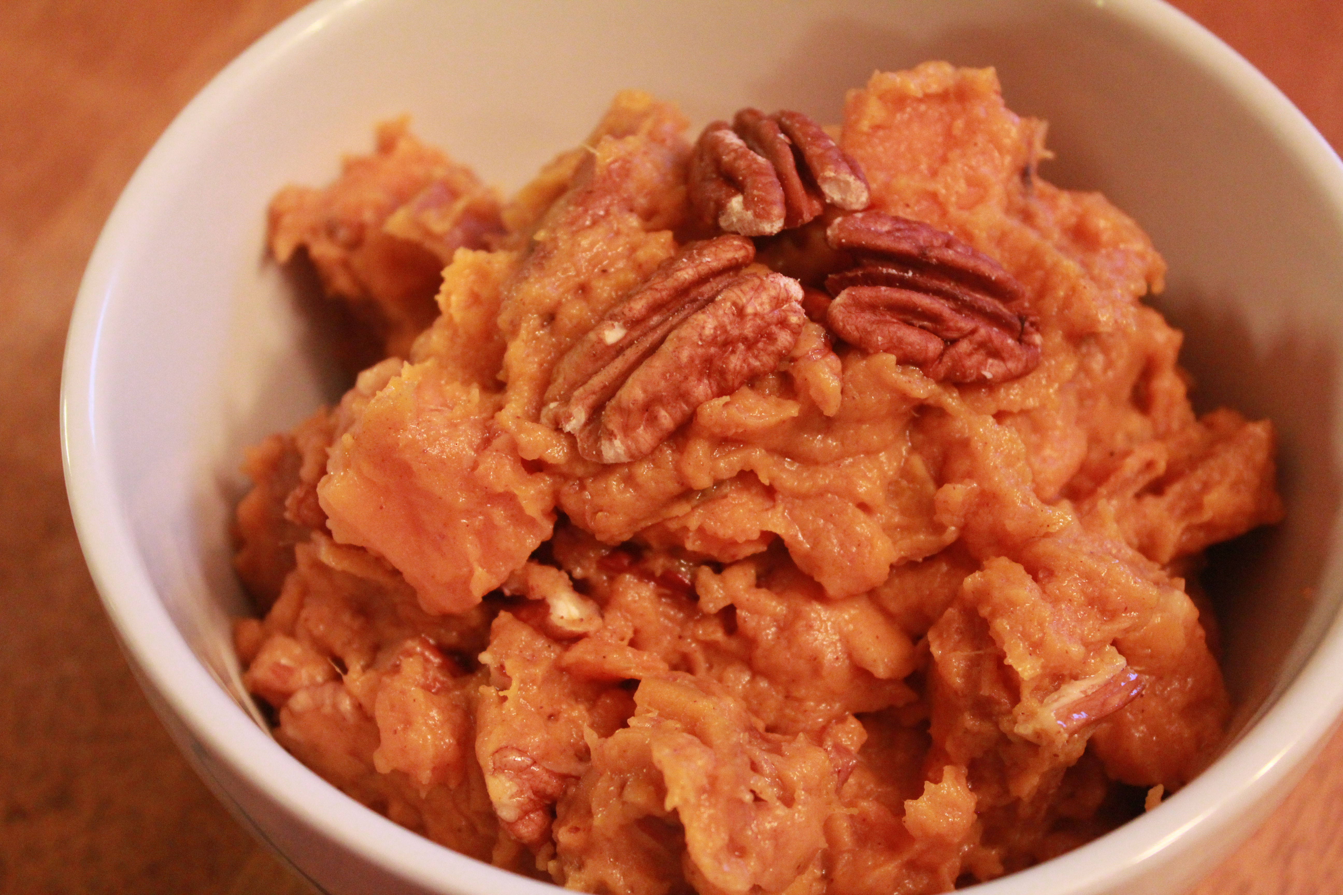 how to cook and mash sweet potatoes